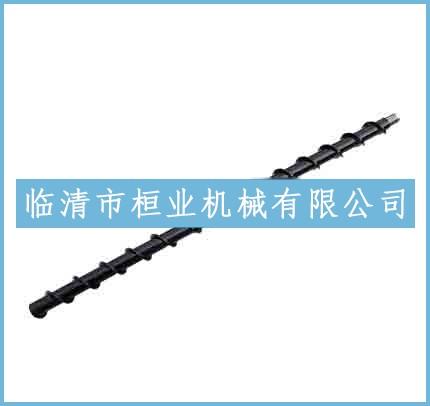 丝扣连接螺旋钻杆